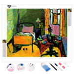 Bedroom by Wassily Kandinsky | Diamond Painting