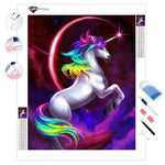 Rainbow Unicorn | Diamond Painting