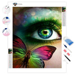 Butterfly in Your Eye | Diamond Painting