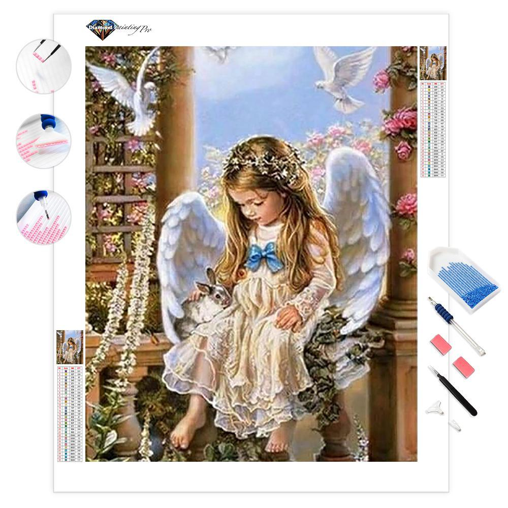 An Angel Among Us - Partial Drill | Diamond Painting