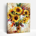 Happy Sunflowers | Paint By Numbers