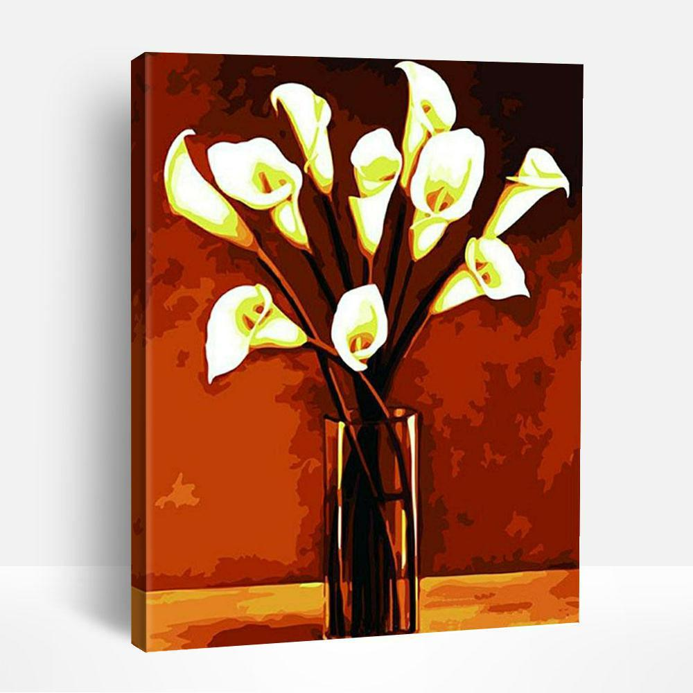 Acrylic Calla Lilies | Paint By Numbers
