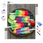 Colorful Ice Cream | Diamond Painting