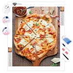 Pizza Lovers Fast Food | Diamond Painting