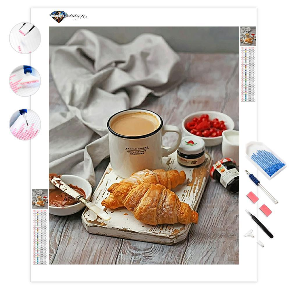 Morning Breakfast | Diamond Painting