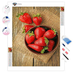 Strawberries Still Life | Diamond Painting