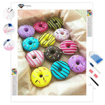 Colorful Doughnuts | Diamond Painting