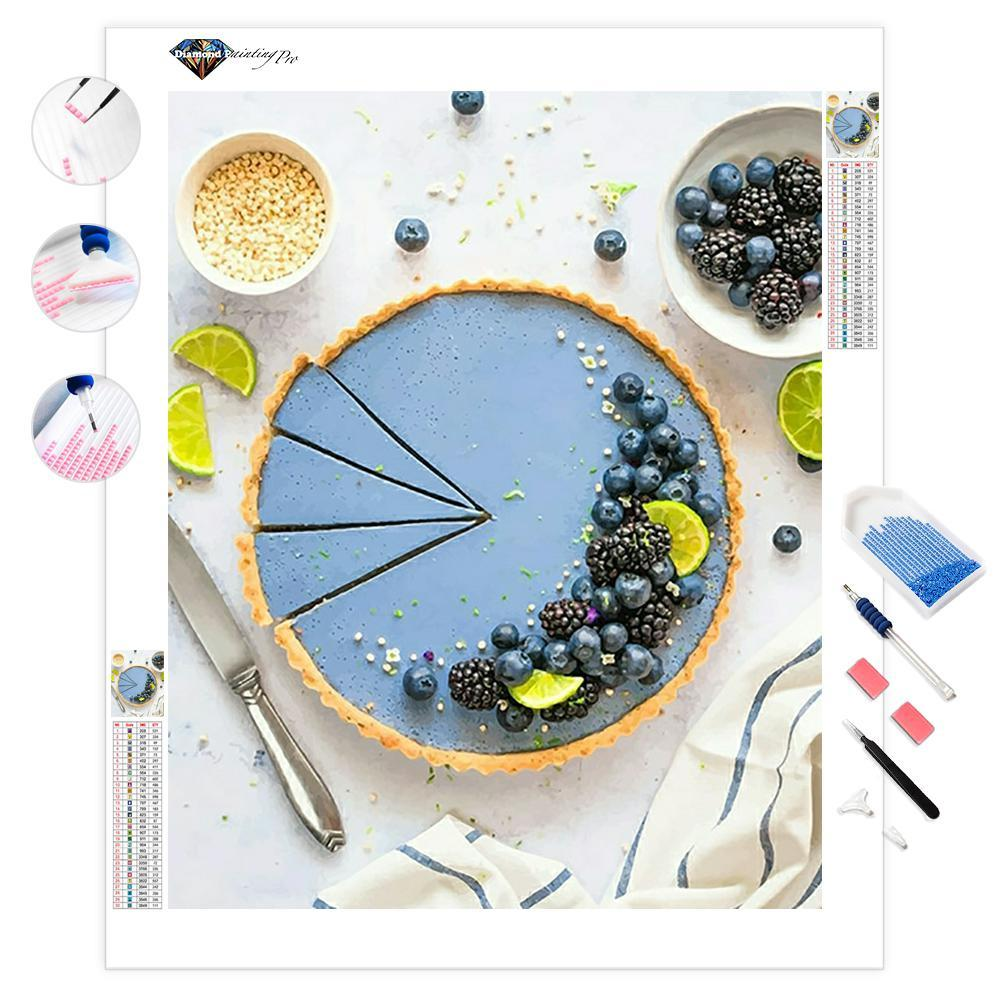 Berries Cake | Diamond Painting