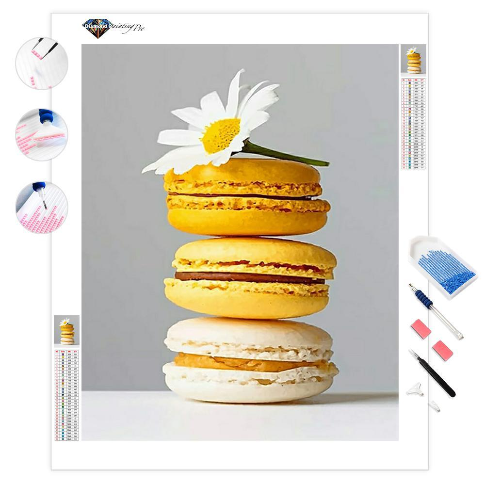 Yellow Macarons | Diamond Painting