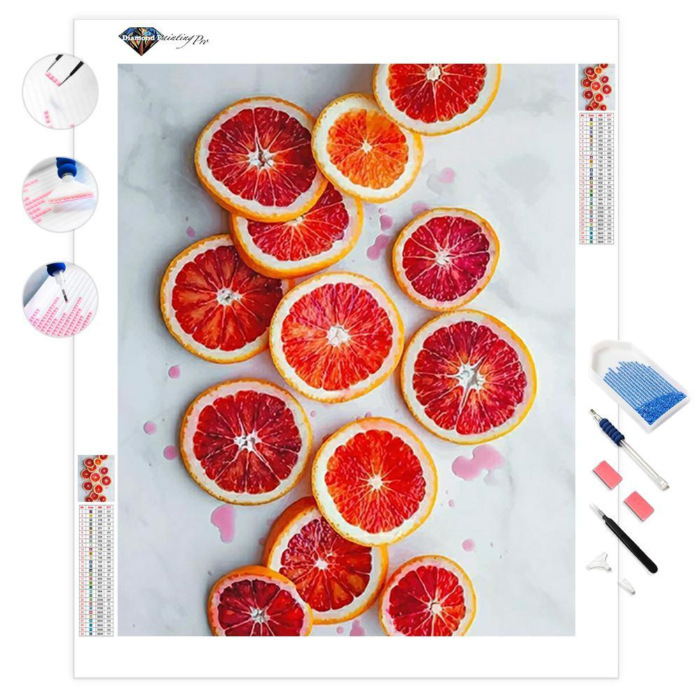 Glazed Blood Orange | Diamond Painting