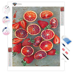 Blood Orange Still Life | Diamond Painting