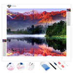 Lake Matheson | Diamond Painting
