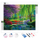 Fairyland Landscape Kits Coloring Painting | Diamond Painting