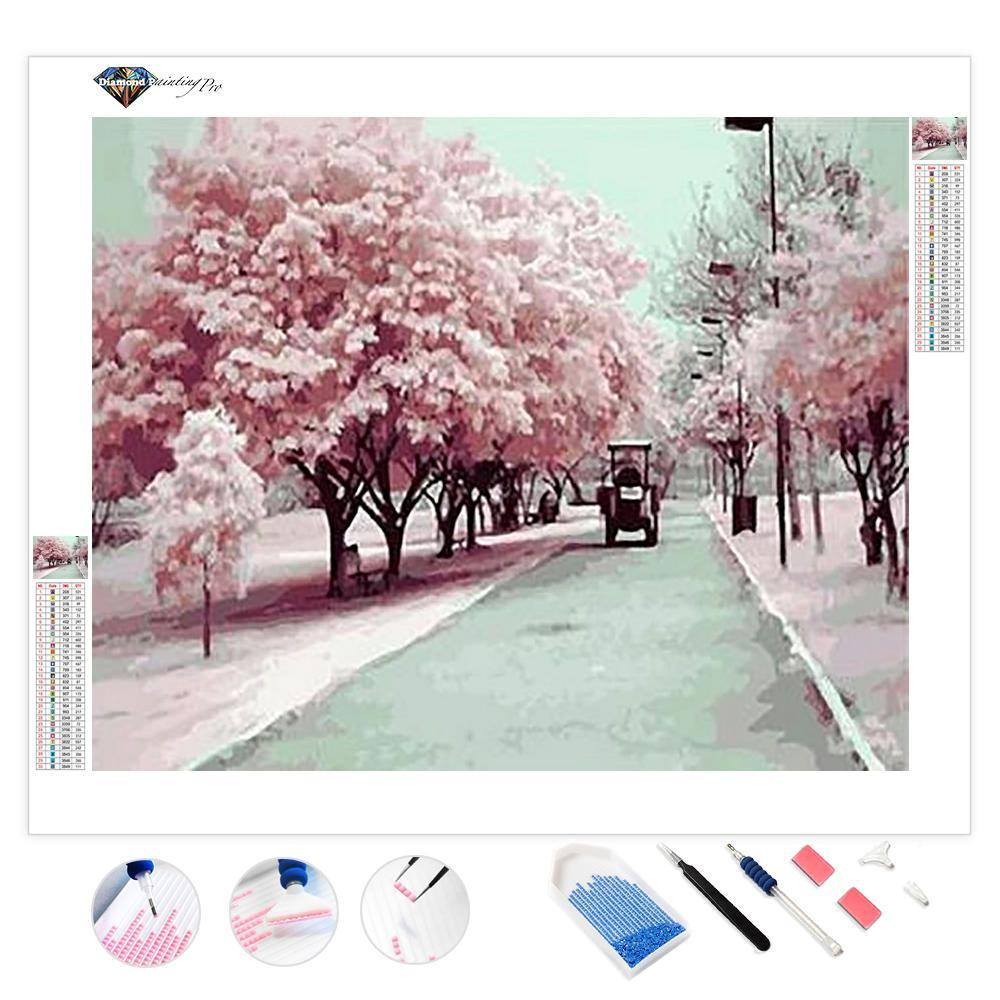 Cherry Blossom Season | Diamond Painting