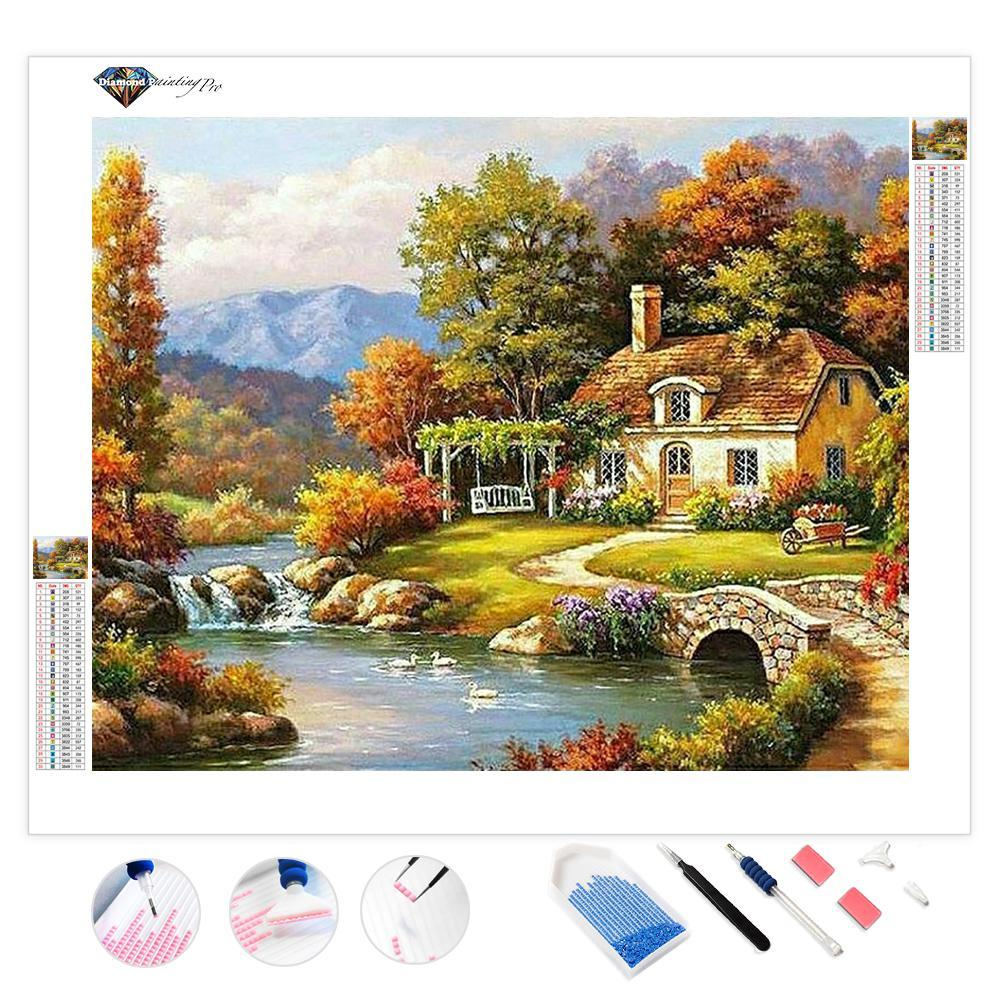 Autumn Farm | Diamond Painting