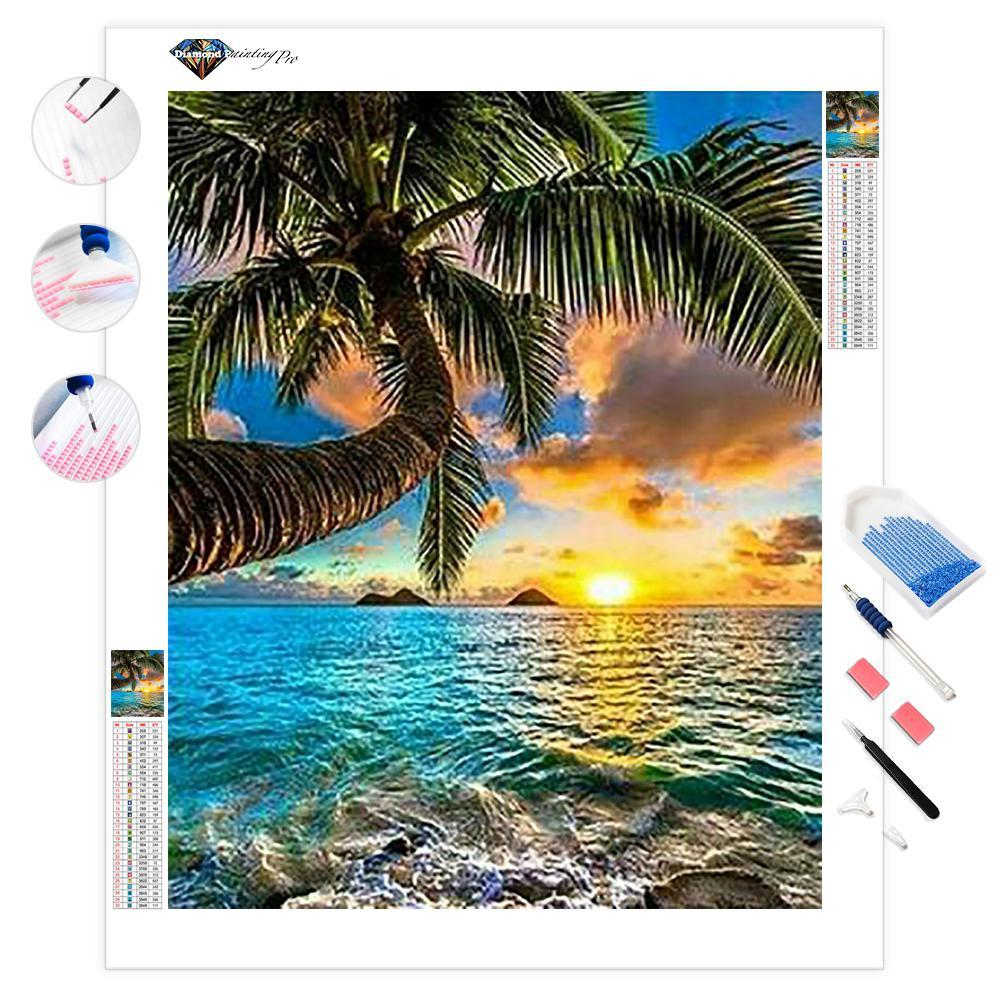 Sun on Seaside | Diamond Painting