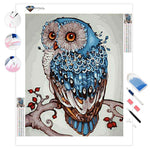 Abstract Owl | Diamond Painting