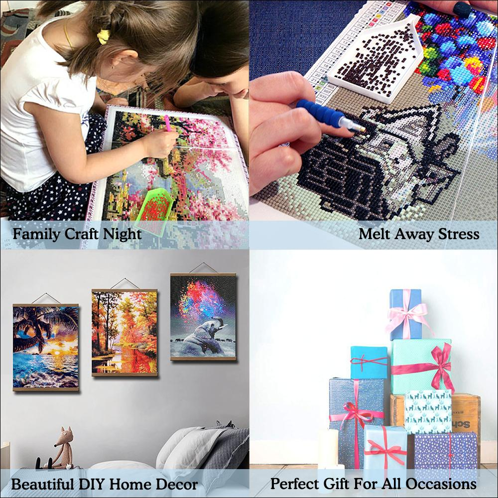 Custom Diamond Painting with Your Photos,Full Round Drill,Custom Photos Diamond Painting Kits for Adults,Private Custom Your Own Personalized Picture,Birthday Gift Home Wall Decor-11.7x11.7inch