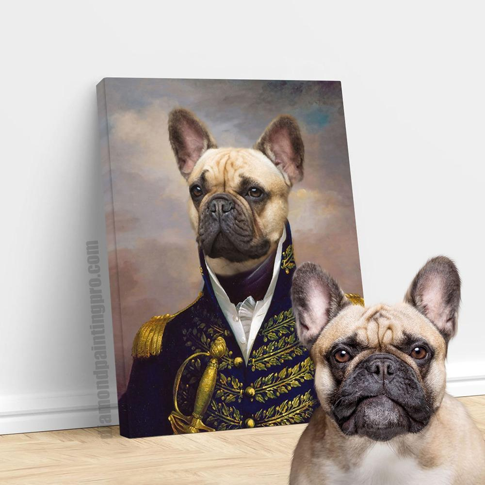 The Admiral | Renaissance Pet Portrait