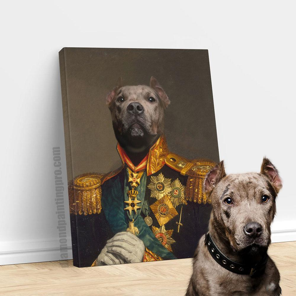The Commander | Renaissance Pet Portrait