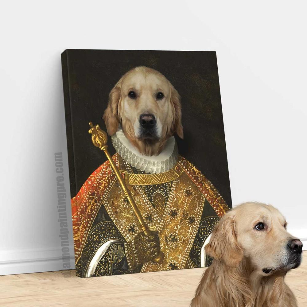 The Emperor | Renaissance Pet Portrait