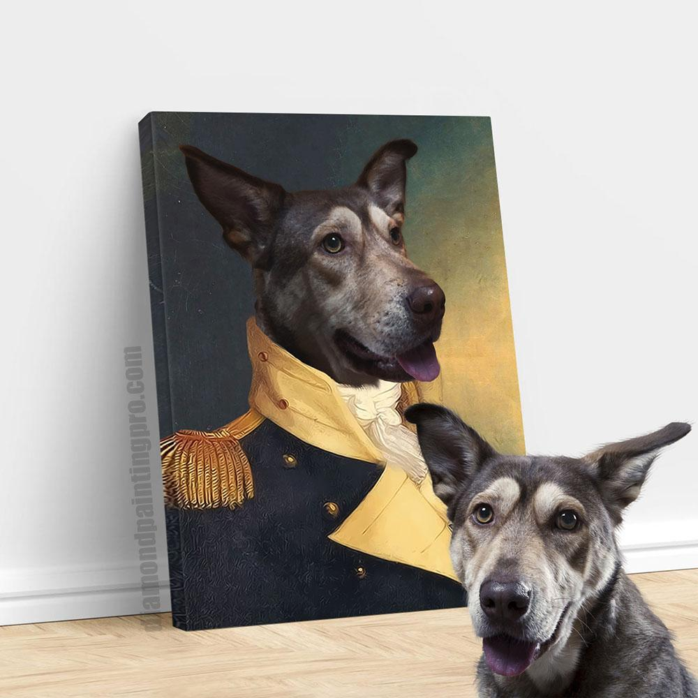 The General | Renaissance Pet Portrait