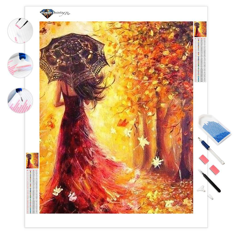 Lady of the Fall | Diamond Painting