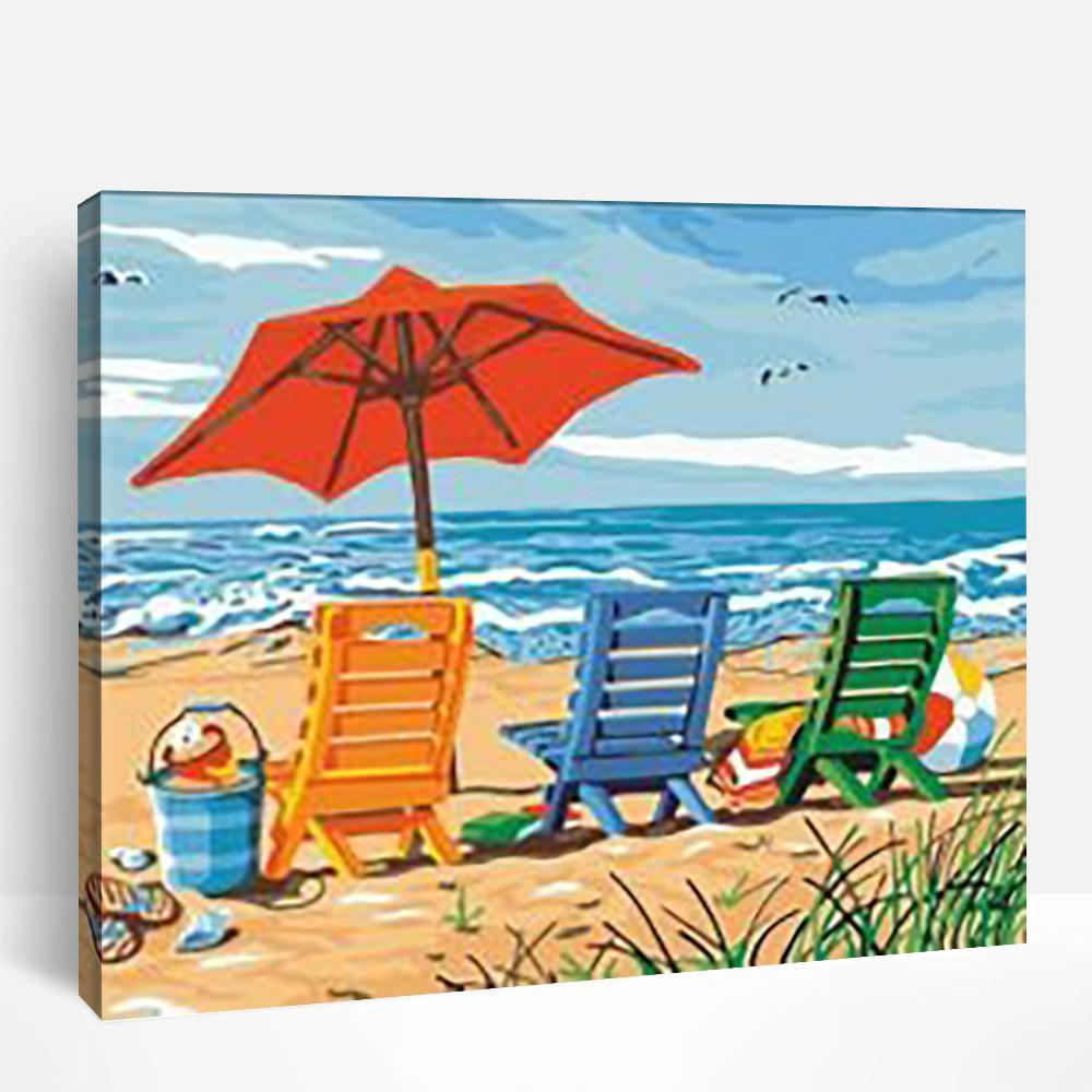 Vacations at The Beach | Paint By Numbers