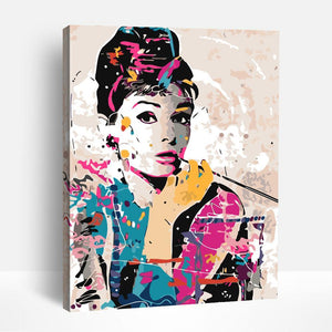 Audrey Hepburn | Paint By Numbers