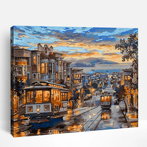 San Francisco Night | Paint By Numbers