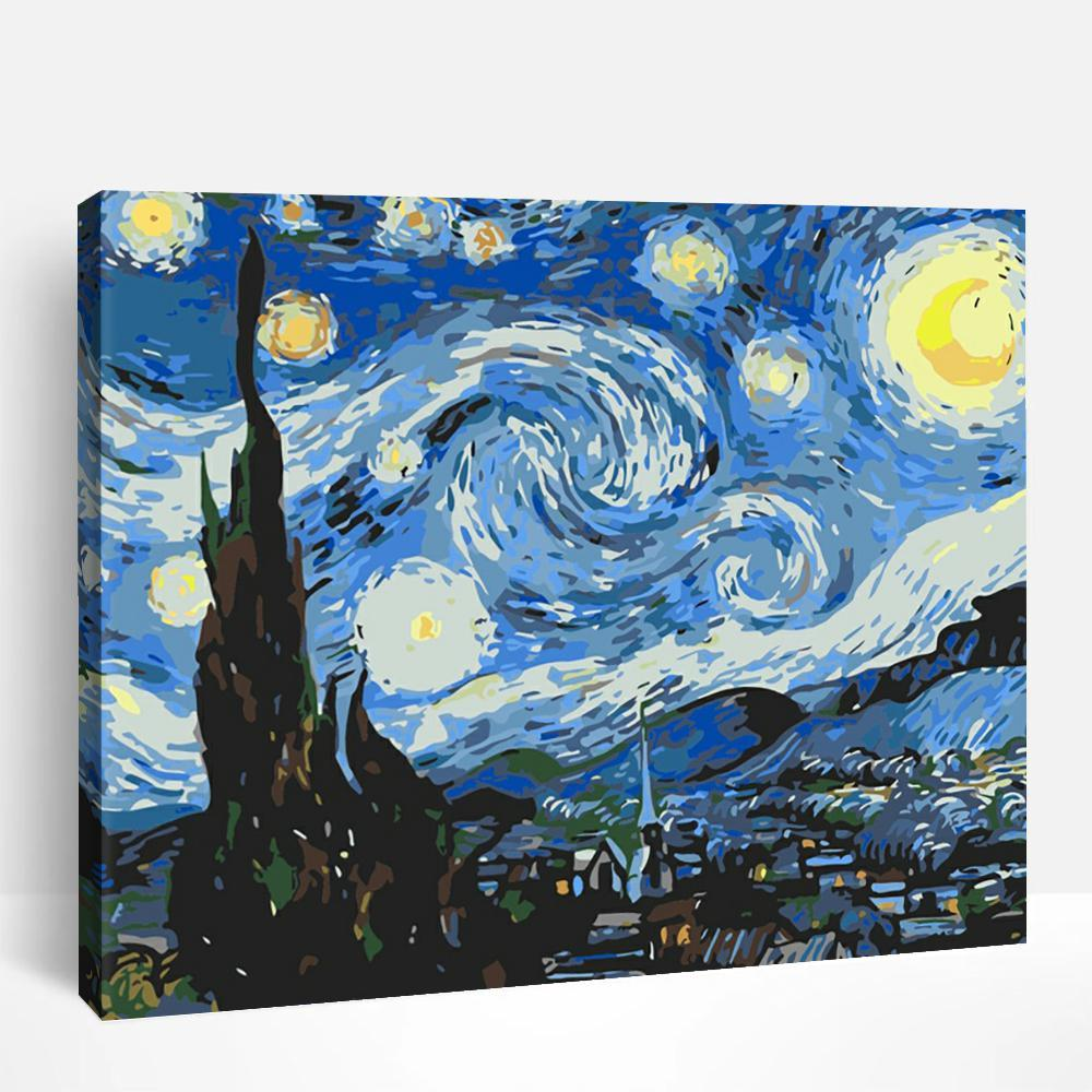 Starry Night | Paint By Numbers
