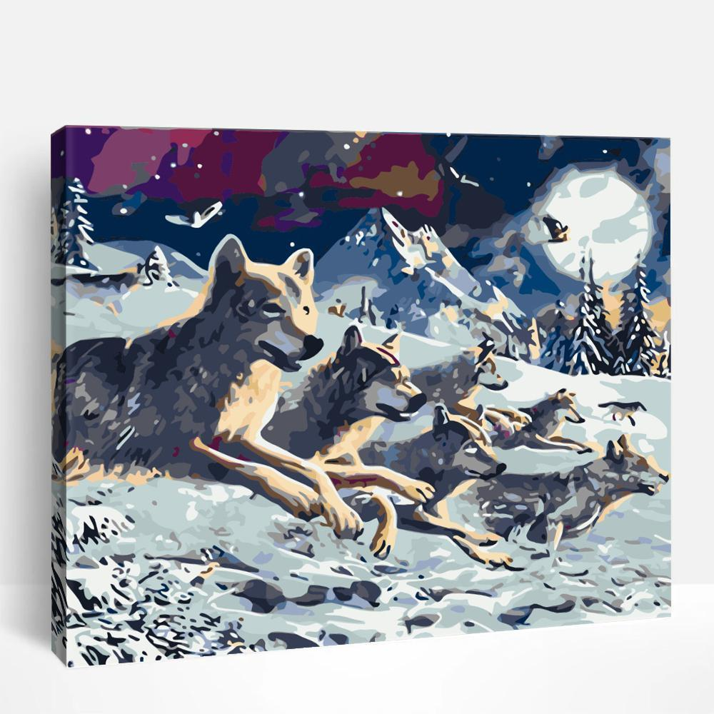 Wolves | Paint By Numbers