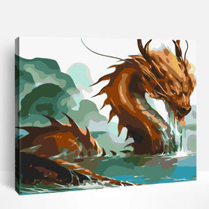 Dragon | Paint By Numbers