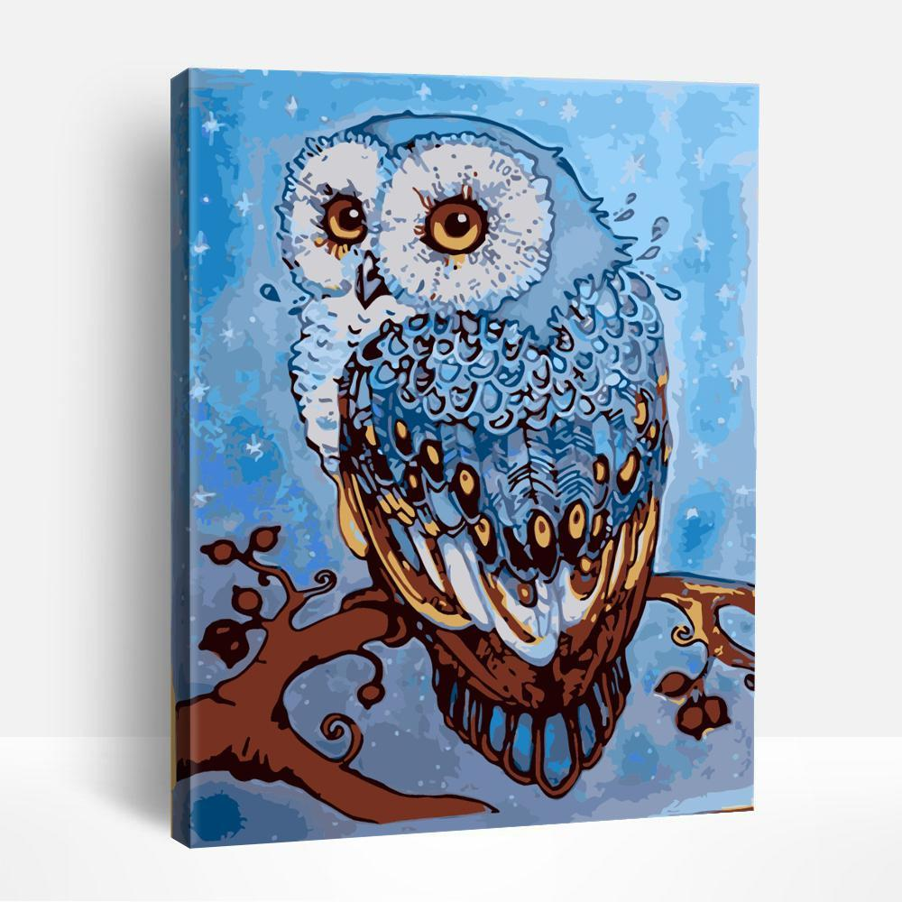 The owl | Paint By Numbers