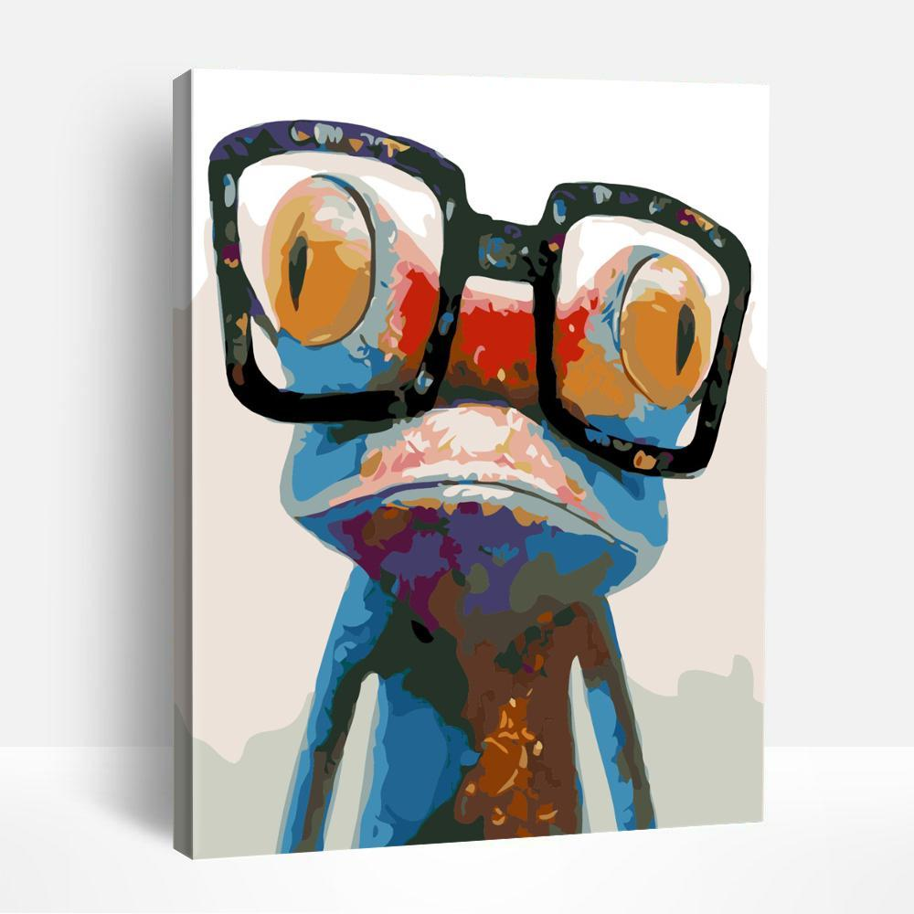 Pop Frog | Paint By Numbers