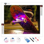 Skateboard with Lights | Diamond Painting