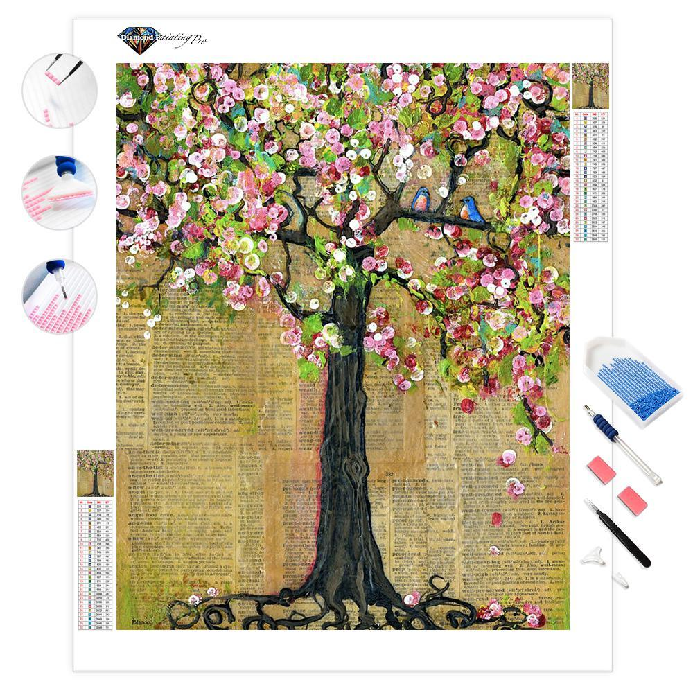 Lexicon Tree of Life | Diamond Painting