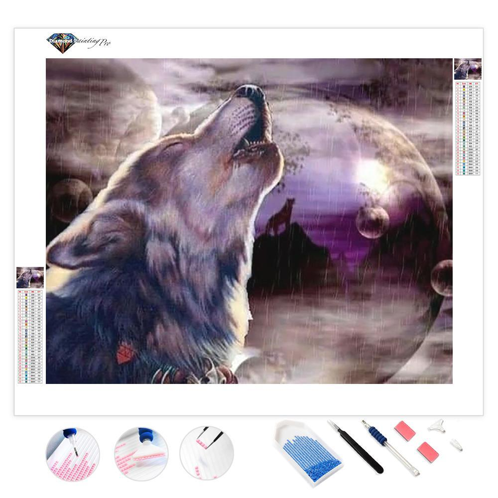 Howl at the Moon | Diamond Painting