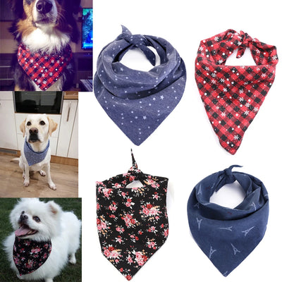 Pet Cotton Scarf Bib