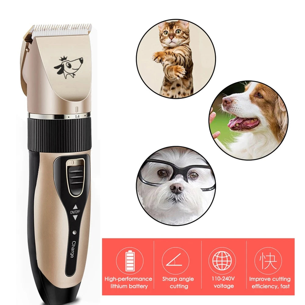 Rechargeable Pet Hair Trimmer