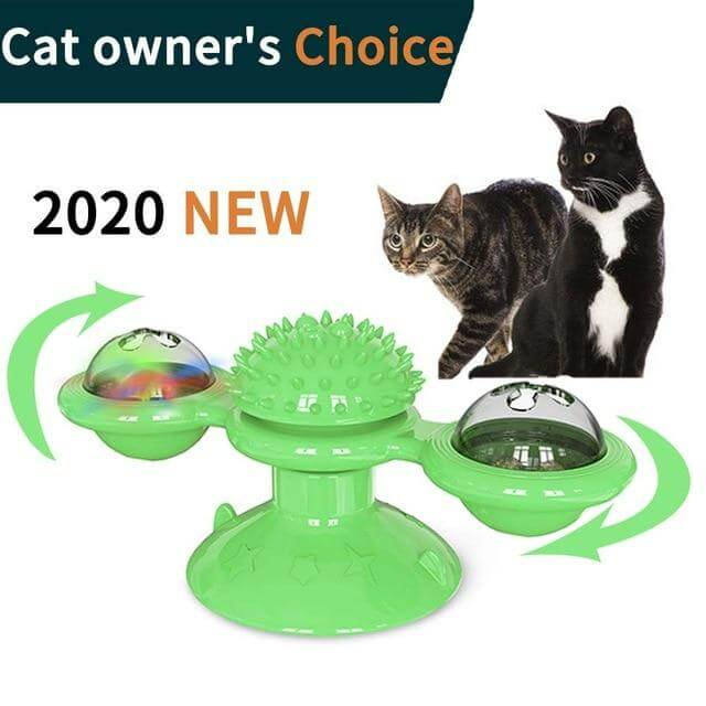 Turntable Teasing Cat Toys