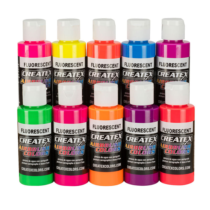 5817-00 60ml AB 10 Color Fluorescent Set