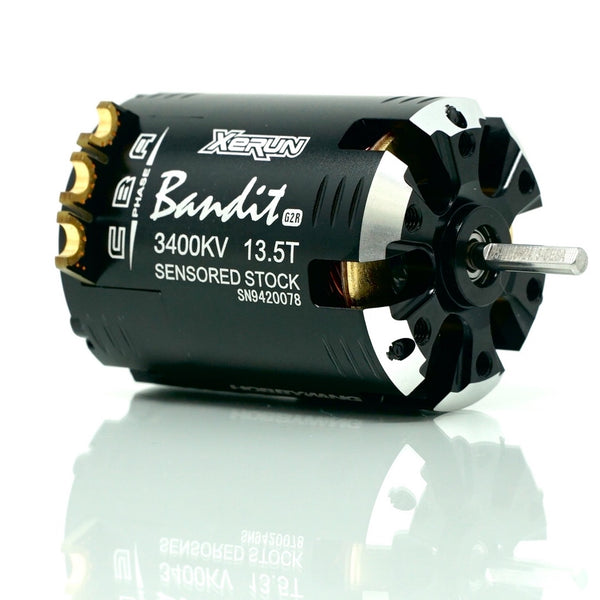 XERUN Bandit Brushless Motor G2R - Outlaw Edition