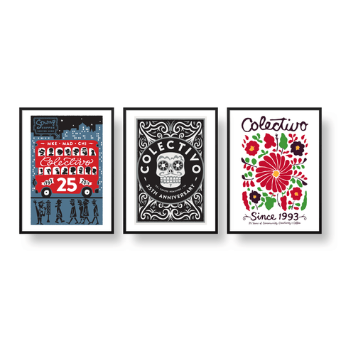 25th Anniversary Silk Screen Poster Pack (15x24)