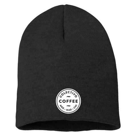 Colectivo Coffee Embroidered Beanie