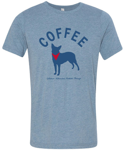 Blue Heeler Coffee T-Shirt