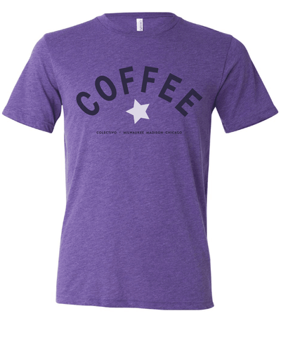 Purple Coffee Star T-Shirt