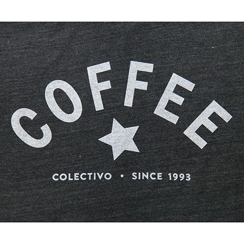 Coffee Star T-Shirt (Heather Black)