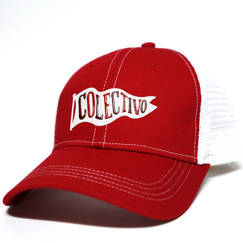 Colectivo Flag Red Trucker Hat