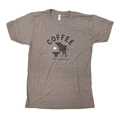 Roaster T-Shirt (Heather Brown)